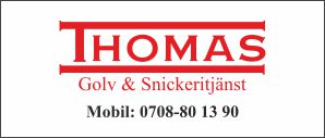 Thomas Golv o Snickeri