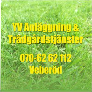 YV Anläggning & Trädgårdstjänster i Veberöd