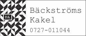 Bäckströms Kakel