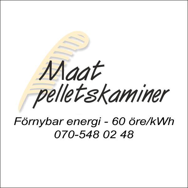 Maat Pelletskamin i Skåne