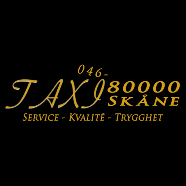 Taxi 80000 Skåne