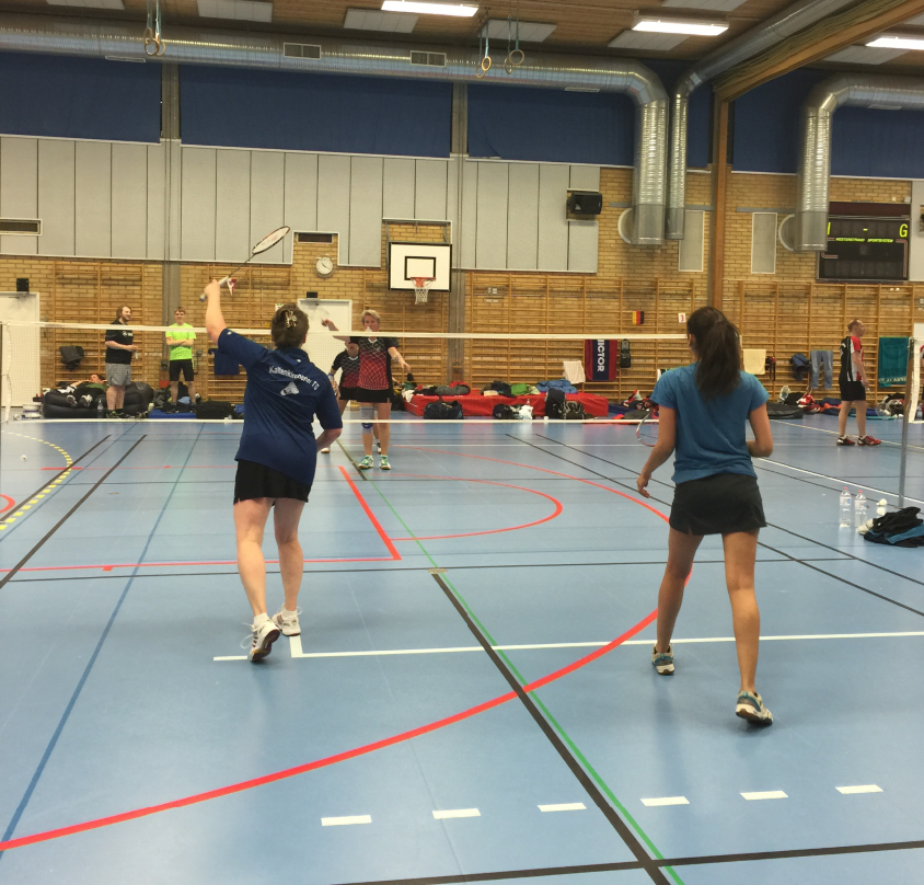 spela badminton hässleholm